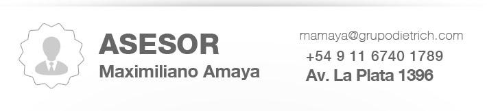 maximiliano amaya vendedor dietrich concesionario oficial ford